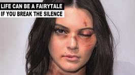 Artist Uses Powerful Images of Beaten Up Celebs to Raise Awareness For Domestic Violence Campaign