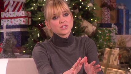Anna Faris Gives Sex Advice to Ellen's Audience