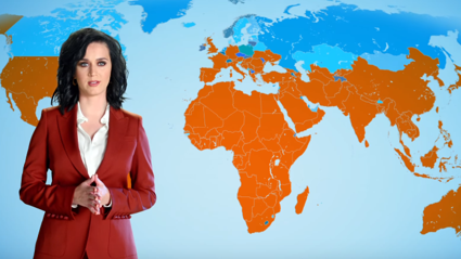 Katy Perry's New Job as a Weather Girl