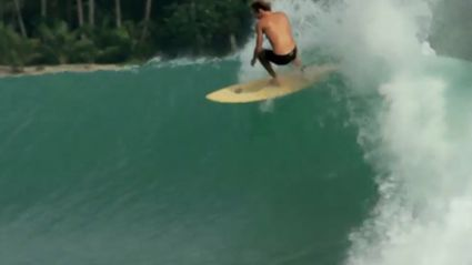 Surfing Incredible Indonesian Waves