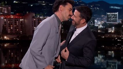 BORAT Comes Out of Retirement to Appear On Jimmy Kimmel