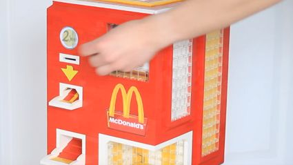 LEGO Invented A Chicken McNugget Dispenser
