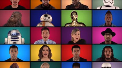 Jimmy Fallon, The New Star Wars Cast and The Roots Star Wars Medley