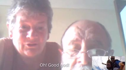 Guy Skypes His Parents While Jumping Out Of Plane