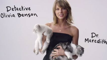 Taylor Swift Thanks Her Cats For Their Part In Her 1989 World Tour