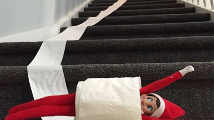Vaughan's Elf On The Shelf 2015
