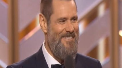 Jim Carrey Takes A Stab at Golden Globes & All Awards Ceremonies In His Speech