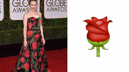 Golden Globes Dresses that Look Like Emojis