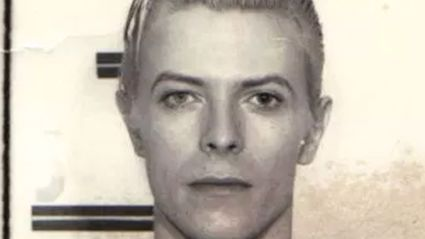 People Are Sharing David Bowie's Badass Mug Shot From 1976