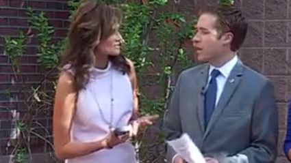 These Two News Anchors Really, Really Hate Each Other #Awks