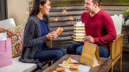 McDonald's Get Called Out On Their Lame Dating Idea