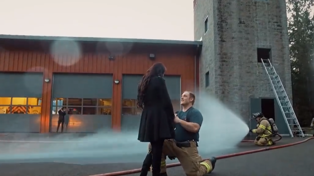 Watch: Firefighter Pulls Off the HOTTEST Proposal