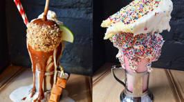 This NYC Restaurant's Milkshakes Are NEXT LEVEL