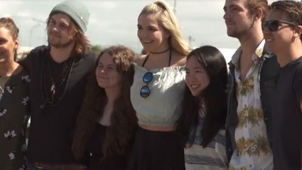 Watch: Guy and Georgia Have Brunch with R5