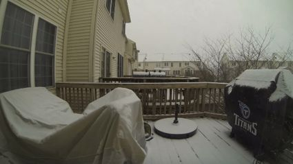Incredible Time-Lapse Footage of Blizzard In U.S.