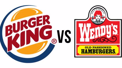 Wendy's and Burger King Let It Rip In A Twitter Feud