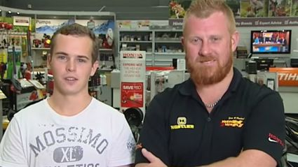Two Aussies Who Stopped Getaway Car Give Hilarious TV Interview