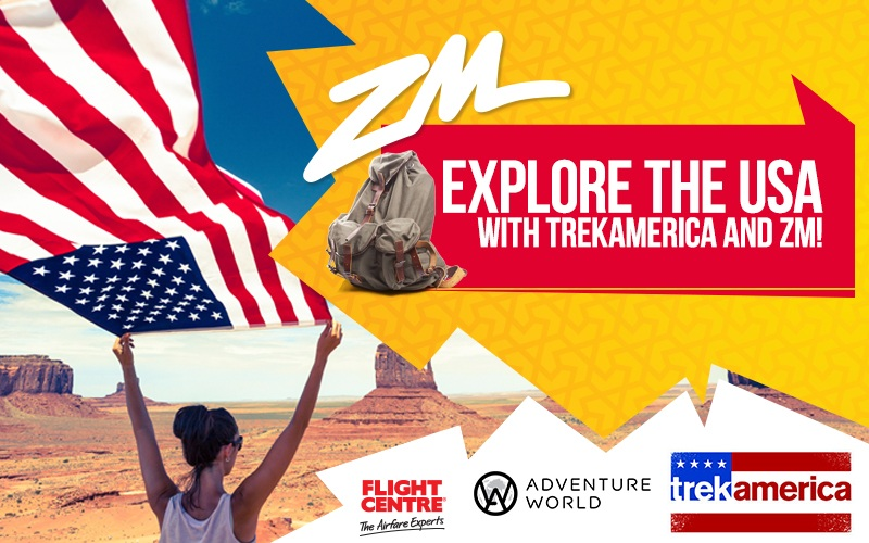 Explore the USA With TrekAmerica and ZM!