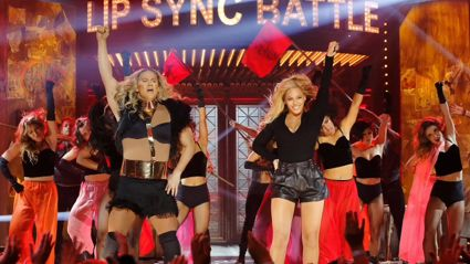 Beyonce Texted Channing Tatum After Their 'Lip Sync Battle' and It Was Great
