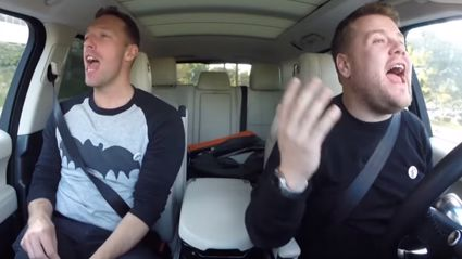 Coldplay's Chris Martin Hitchhikes to Super Bowl In First 'Carpool Karaoke' Clip