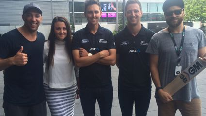 Fletch, Vaughan and Megan Play BYC With the Black Caps