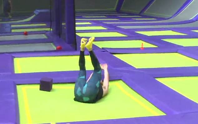 Watch: Vaughan Takes A JUMP Fitness Class... And Struggles