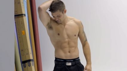 VIDEO: Behind the Scenes of ZM's Strip Search Photoshoot