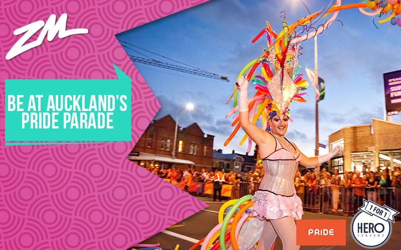 Win Your Place On ZM's Pride Parade Float