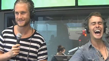 Watch: Home and Away's Ash and Matt Sing For FVM