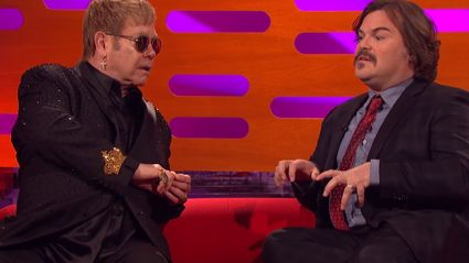 Jack Black Can't Remember Lyrics to Elton John Song In Front of Elton John