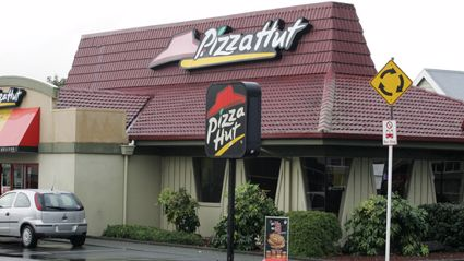 Pictured: the former Whangarei Pizza Hut / Photo by Ron Burgin