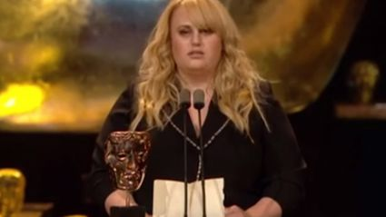 Rebel Wilson Delivers Amazing Deadpan Speech at BAFTAs