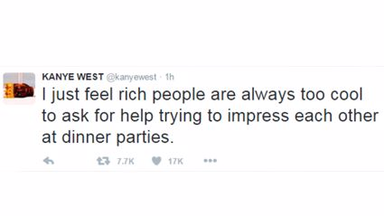 Kanye West Clears Up 'Debt' Tweet With Barrage of Other Tweets