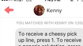 Guy's 'Automated Response' Tinder Pick-Up Line Fails Miserably