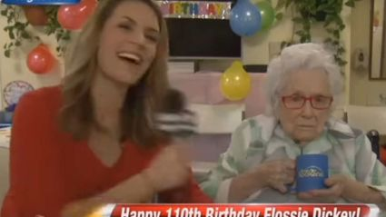 110-Year-Old Woman Gives Roughly Zero F**ks in Awkward Interview