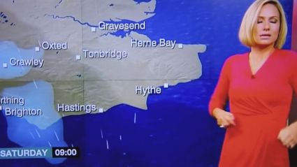 BBC Weather Presenter Faints Live On Air, Apologises First