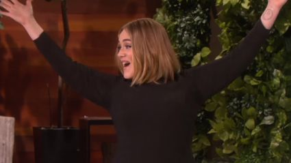 "Adele Gives Three Names For ""Lady Parts"" in Game With Ellen"