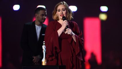 Watch Adele Support Kesha With Brit Awards Acceptance Speech