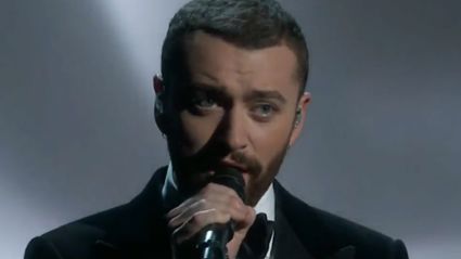 Watch Sam Smith Perform 'Writing's on the Wall' at the Oscars