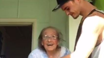 Kiwi Grandson Takes Nanas Hand and Dances With Her in Adorable Video