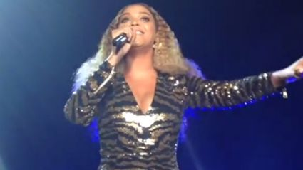 """Beyonce Slayed """"I Will Always Love You"""" at School Gala"""