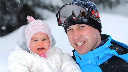 Royal Family Release Skiing Holiday Snaps - CUTE!