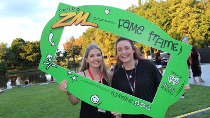 WAIKATO - #ORI2016 ZM at the University of Waikato Fame Frame Photos