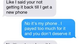 Man Gets Revenge on Ex Who Won't Return His Phone