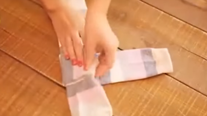 VIDEO: Perfect Sock-Folding Technique Will Change Your Life