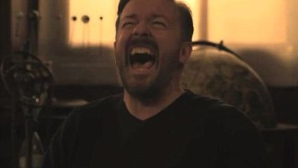 Ricky Gervais' Infectious Laugh Just Got Made Into A Dance Banger