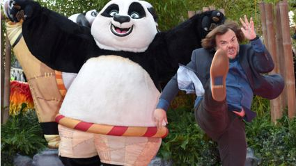 Photoshoppers Have Fun With Jack Black And Kung Fu Panda