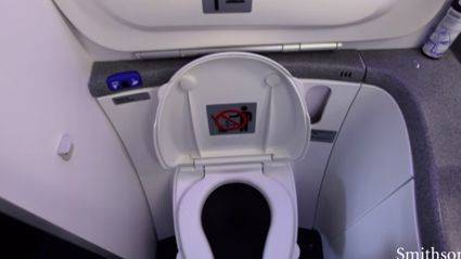 What Aeroplane Toilets Do With Your Waste