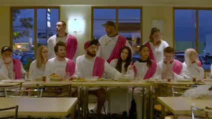 Fletch, Vaughan and Megan's The Last Supper