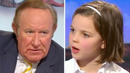 10-Year-Old Girl Accuses BBC Presenter of Not Being Educated Properly